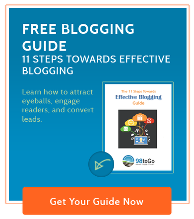 Free Blogging Guide - 11 Steps Towards Effective Blogging
